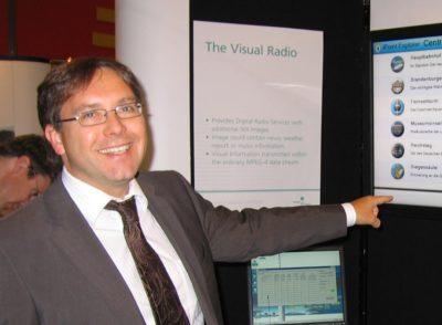 Gestengesteuerte Interaktion 2009 am Fraunhofer HHI