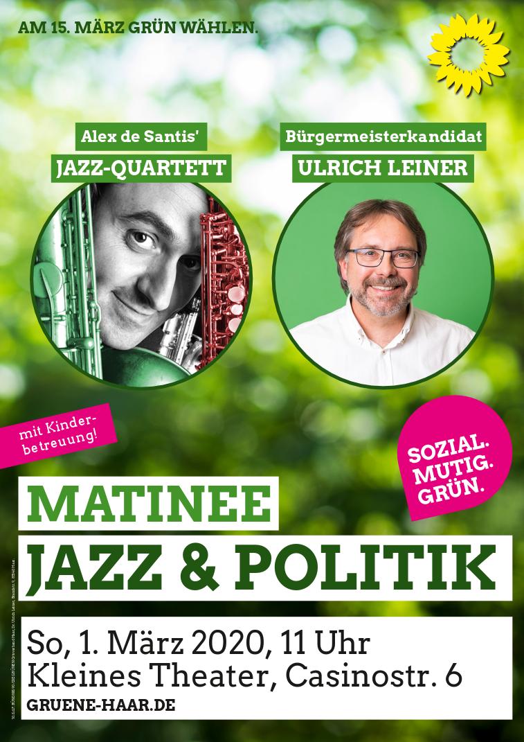 Matinee: Jazz & Politik